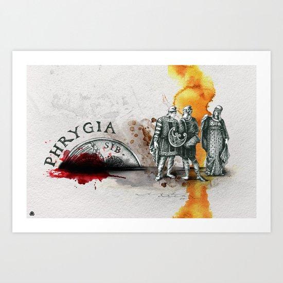 Phrygia Art Print