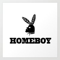 Homeboy Art Print
