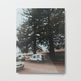 In a little town in Oregon Metal Print