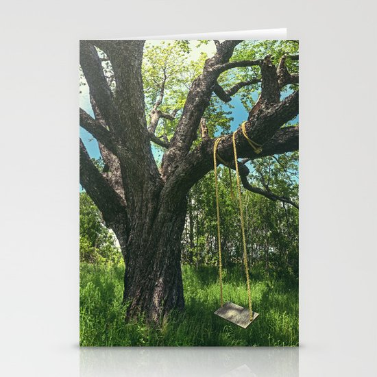 Swing the Summer Away Stationery Cards