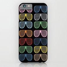 Rainbow Shutter Shades at Night iPhone 6s Slim Case