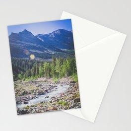 Canyon Creek, Montana Stationery Cards