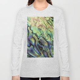 Sea Shell Texture Long Sleeve T-shirt