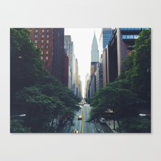 Morning in the Empire Canvas Print