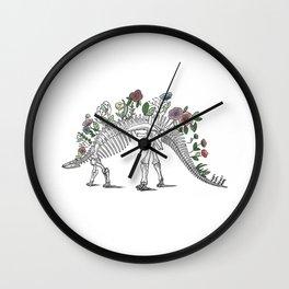 Stego-flora-saurus Wall Clock