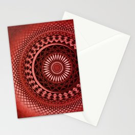 Hot Red Mess Stationery Cards