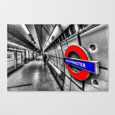 Underground Wait Canvas Print