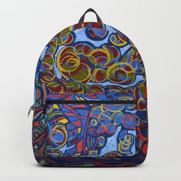 ABSTRACT FOREST 1 Backpack
