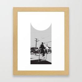 big wheel Framed Art Print