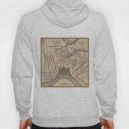 Vintage Map of New Orleans Louisiana (1798) Hoody