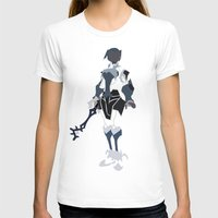 aqua T-shirts featuring Aqua by JHTY