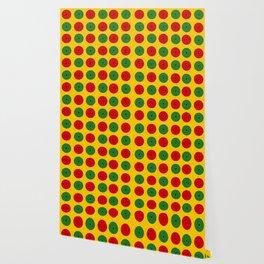 African wax print Wallpaper