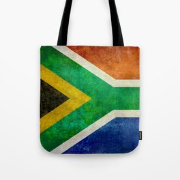 Flag of the Republic of South Africa Tote Bag