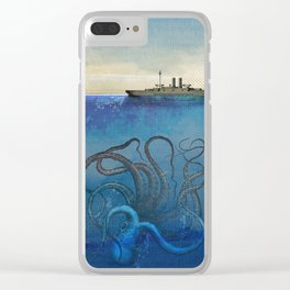 Sea Monster Clear iPhone Case