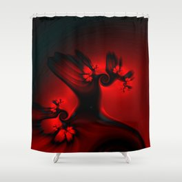 Faerie Trees Shower Curtain