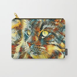AnimalArt_Cat_20170925_by_JAMColorsSpecial Carry-All Pouch