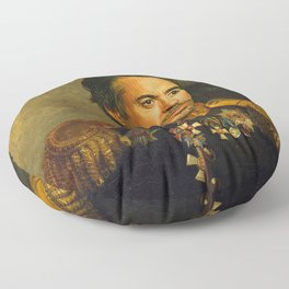 Robert Downey Jr. - replaceface Floor Pillow