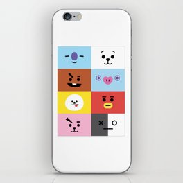 BT21 ALL-IN-ONE iPhone Skin