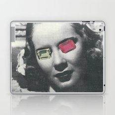 Psychedelic glasses II Laptop & iPad Skin