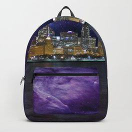 Spacey Chicago Skyline Backpack