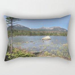 Hiking in Baxter Rectangular Pillow