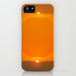 Double Sunset  iPhone Case
