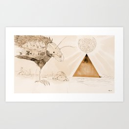 Wasteland of Dreams Art Print