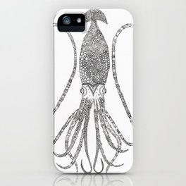 The Squid White iPhone Case