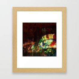 London time 2 Framed Art Print