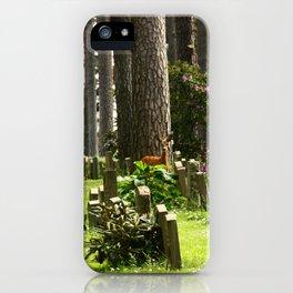 Skogskyrkogården iPhone Case