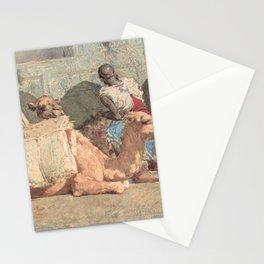 Camels Reposing, Tangiers - Digital Remastered Edition Stationery Cards