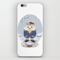 leon iPhone & iPod Skins featuring Leon by Laure Lilyvale