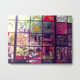 graffiti Metal Print