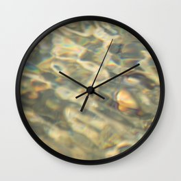 water pattern II Wall Clock