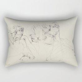 Dozing Off Rectangular Pillow