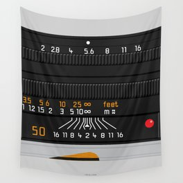 Leica 50mm Wall Tapestry