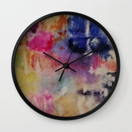 Inkprints Wall Clock