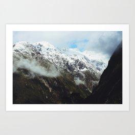 Mountain Road III (Wanaka, New Zealand) Art Print