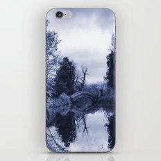 Chinese Bridge at Wrest Park in Blue iPhone & iPod Skin