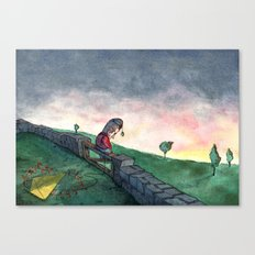 The Apple Prince Canvas Print