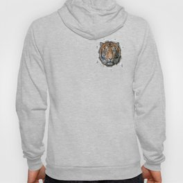 A wildlife, Bengal-tiger Hoody