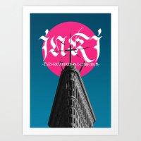 INRI Art Print