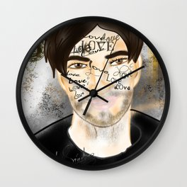 The Word you Never Say (Giannis). Wall Clock