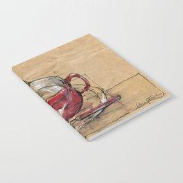 Red Mug Notebook