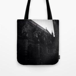 Black Metal Church Tote Bag