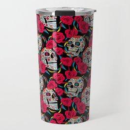 Sugar & Roses Travel Mug