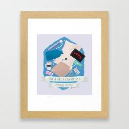 Spoonie Things Framed Art Print