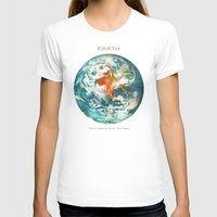 earth T-shirts featuring Earth by Terry Fan