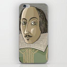 great shakespeare english writer iPhone Skin