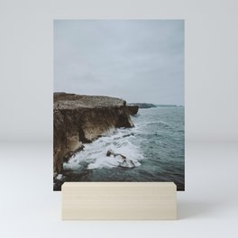summer coast Mini Art Print